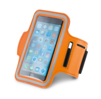 "Держатель для смартфона на руку Hold Me Tight 5"", оранжевый"