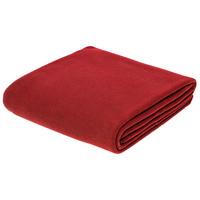 Флисовый плед Warm&Peace, красный