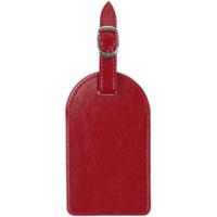 Бирка багажная Nebraska, красная