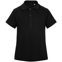 Рубашка поло детская Virma Kids, черная