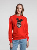 Толстовка Monkey Mouse, красная