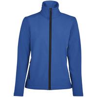 Куртка софтшелл женская Race Women ярко-синяя (royal)