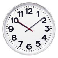 Часы настенные ChronoTop, серебристые