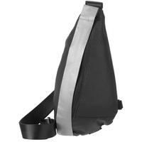 Сумка кросс-боди tagBag со светоотражающим элементом, черная