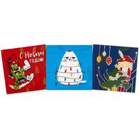 Набор Warmest Wishes: 3 открытки с конвертами
