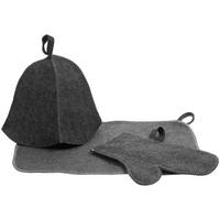 Набор для бани «Парилка», серый