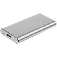 Портативный внешний SSD Uniscend Drop, 256 Гб, серебристый