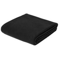 Флисовый плед Warm&Peace XL, черный