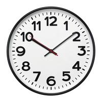 Часы настенные ChronoTop, черные