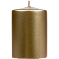 Свеча Lagom Care Metallic, золотистая