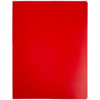 Папка с прижимом Expert, красная