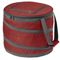Складная сумка-холодильник Coast, бордовая