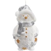 Свеча Christmas Twinkle, снеговик