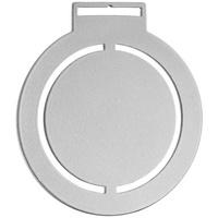 Медаль Steel Rond, серебристая