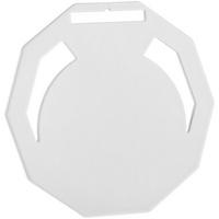 Медаль Steel Deca, белая