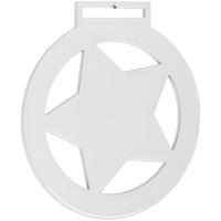 Медаль Steel Star, белая