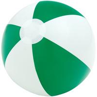 Надувной пляжный мяч Cruise, зеленый с белым