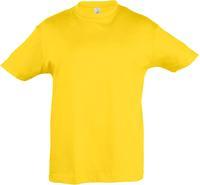 Футболка детская Regent Kids 150, желтая