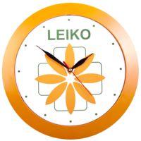 Часы настенные Vivid Large, оранжевые