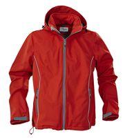 Куртка софтшелл мужская Skyrunning, красная