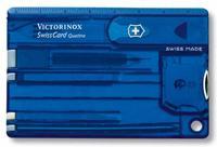 Набор инструментов SwissCard Quattro, синий